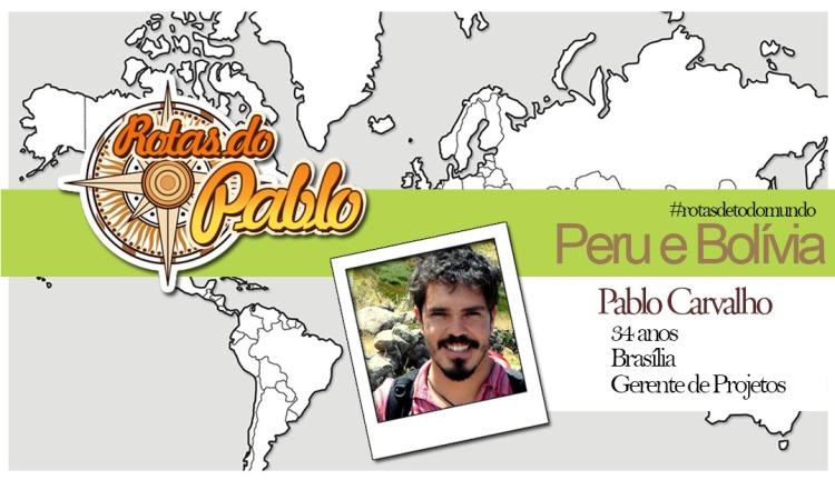 Rotas do Pablo Carvalho